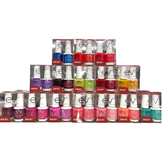 EV gel Polish - B Collection Blooming 36 matching gel + Nail lacquer
