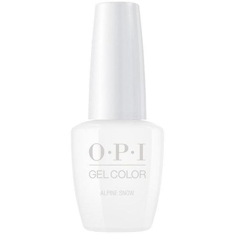 OPI GELCOLOR, ALPINE SNOW - L00