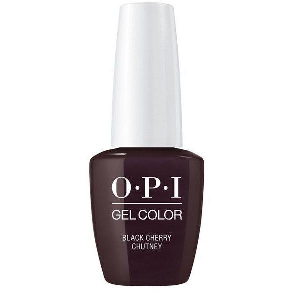 OPI GELCOLOR, BLACK CHERRY CHUTNEY