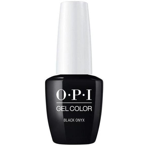 OPI GELCOLOR, BLACK ONYX T02