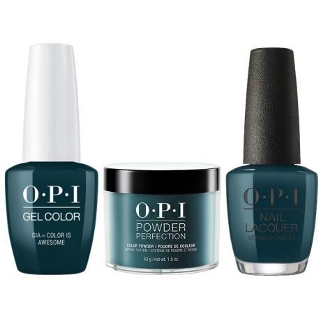 OPI 3in1, CIA = Color Is Awesome - W53