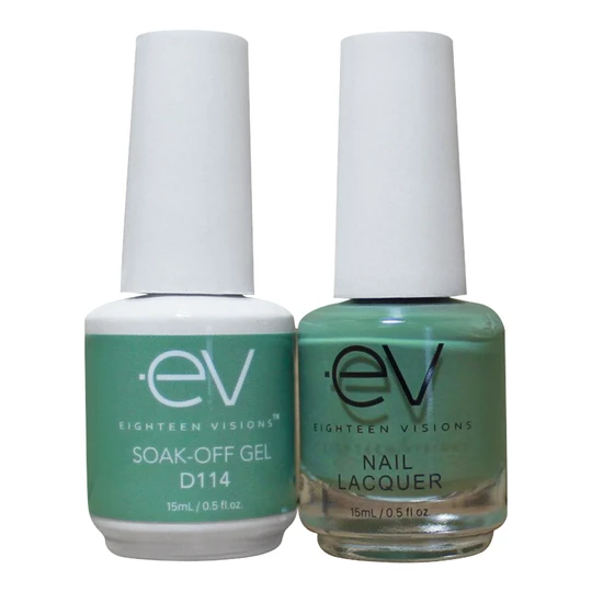 EV gel Polish - D Collection Delightful 36 matching gel + Nail lacquer