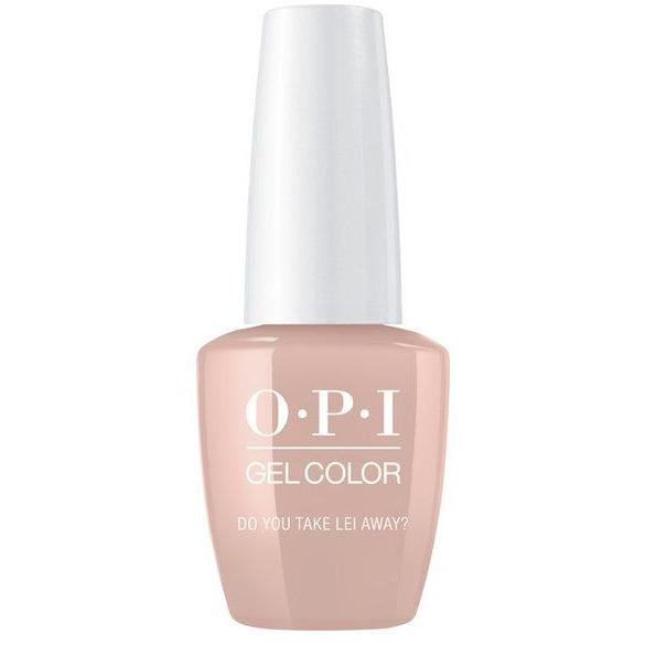 OPI GELCOLOR, DO YOU TAKE LEI AWAY