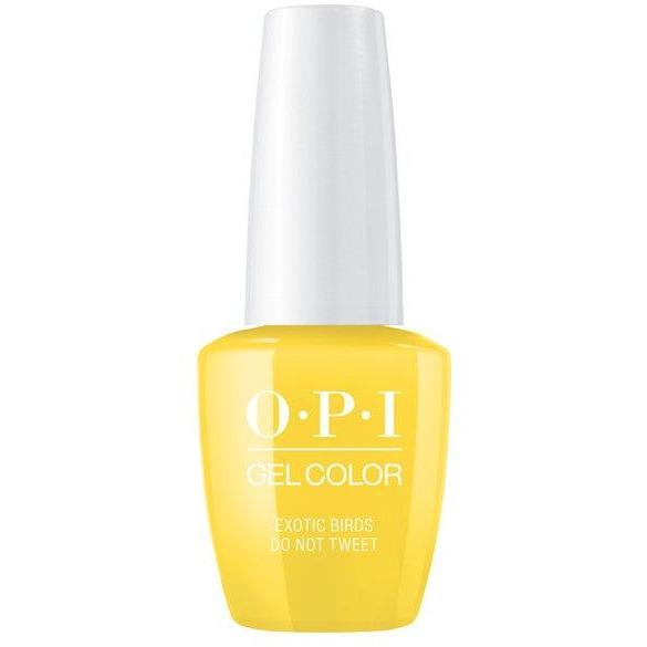 OPI GELCOLOR, EXOTIC BIRDS DO NOT TWEET