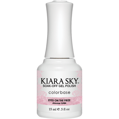 Kiara Sky Gel Polish - G584 EYES ON THE PRIZE