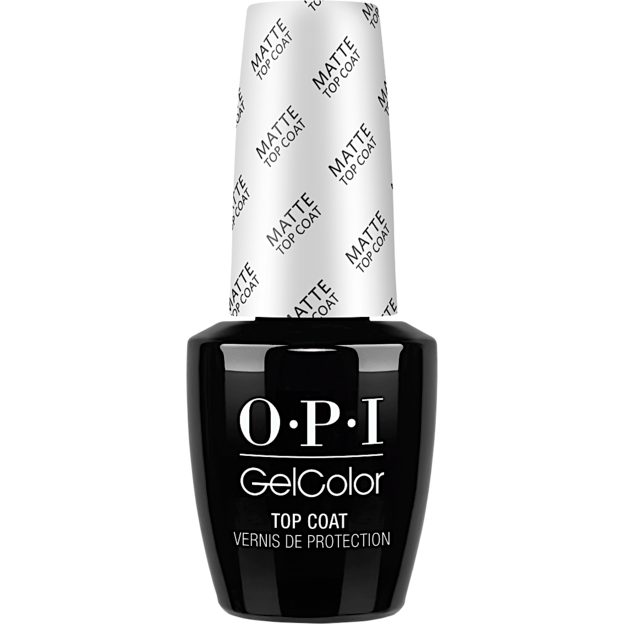 OPI Gelcolor Matte Top Coat - GC031, 0.5oz