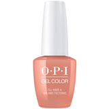 OPI GELCOLOR, I'LL HAVE A GIN & TECTONIC