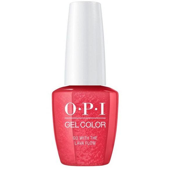 OPI GELCOLOR, GO WITH THE LAVA FLOW