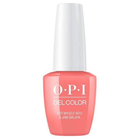 OPI GELCOLOR, GOT MYSELF INTO A JAM-BALAYA