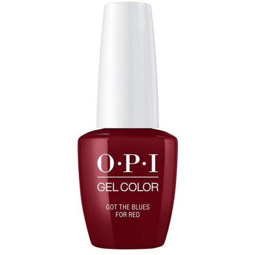 OPI GELCOLOR, GOT THE BLUES FOR RED