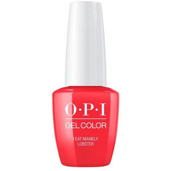 OPI GELCOLOR,  I EAT MAINELY LOBSTER