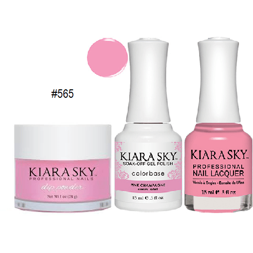Kiara Sky 3in1 PINK CHAMPAGNE #565 – The Nail Supply Store