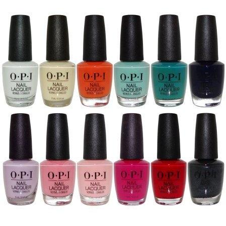 OPI Nail Lacquer Grease Collection Summer 2018 Set of 12