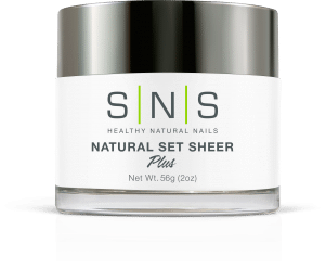 SNS Dipping Powder, Natural Set Sheer, 2oz