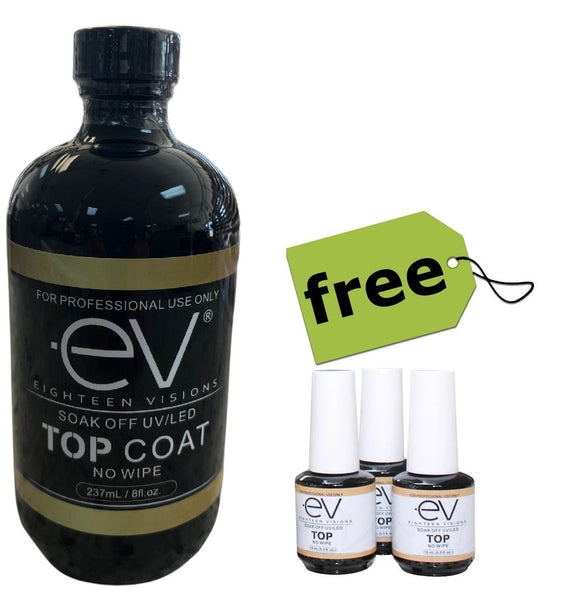 EV Gel Base & Top Coat refill 8 OZ