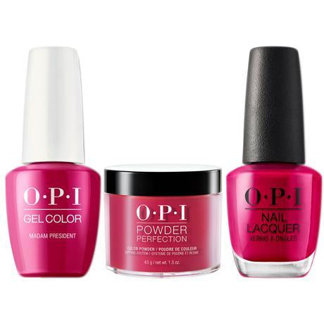 OPI 3in1, Madam President - W62