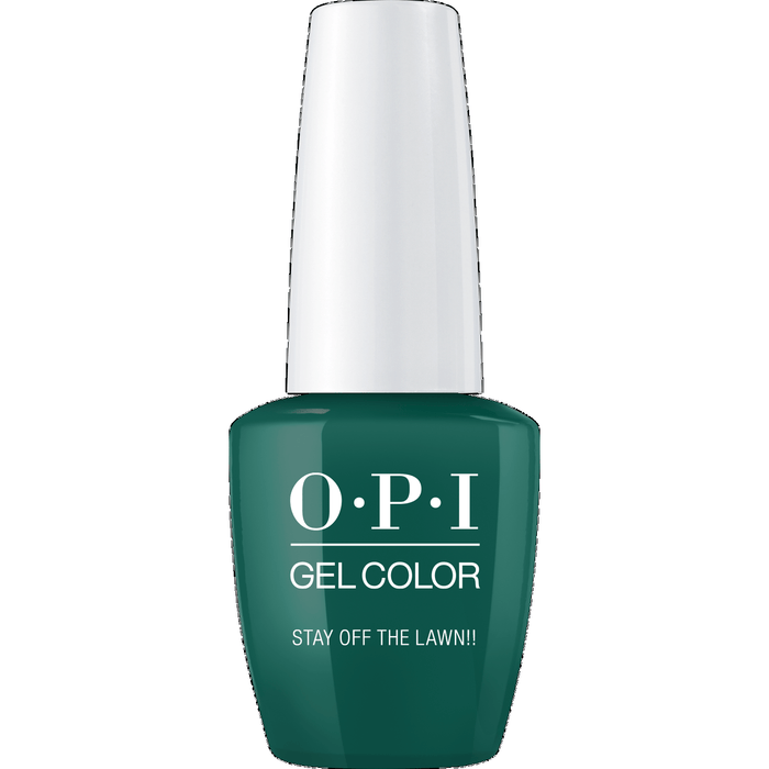 OPI GELCOLOR, STAY OFF THE LAWN