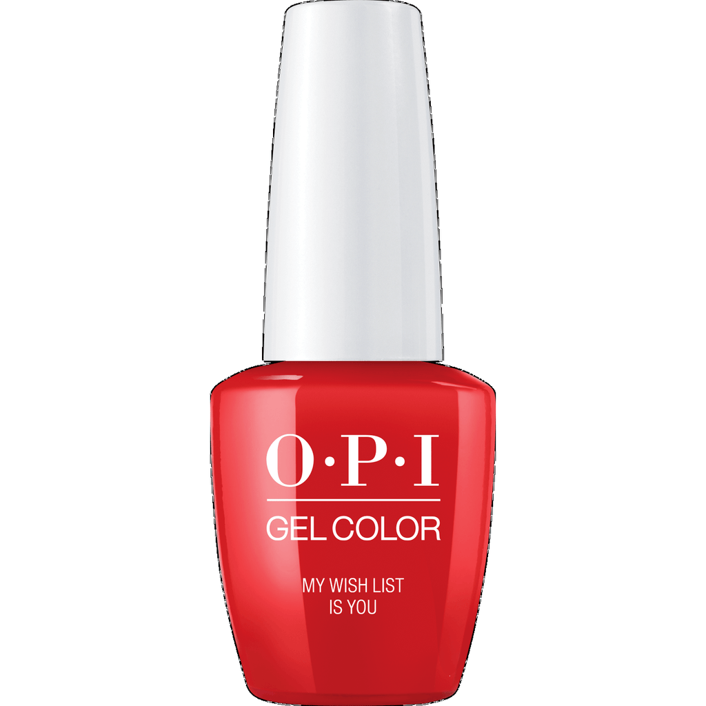 OPI GELCOLOR, MY WISH LIST IS YOU