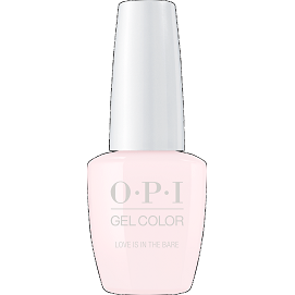 OPI GELCOLOR, LOVE IS IN THE BARE