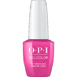 OPI GELCOLOR, NO TURNING BACK FROM PINK STREET