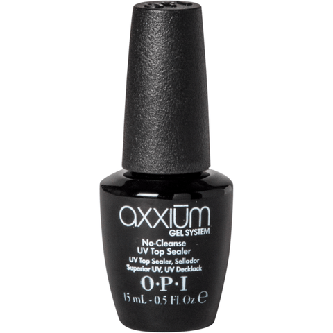 OPI Axxium No-Cleanse UV Top Sealer, 0.5 oz
