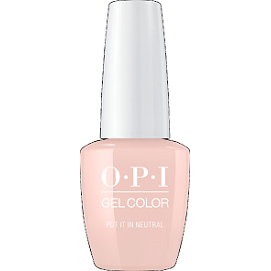OPI GELCOLOR, PUT IT IN NEUTRAL