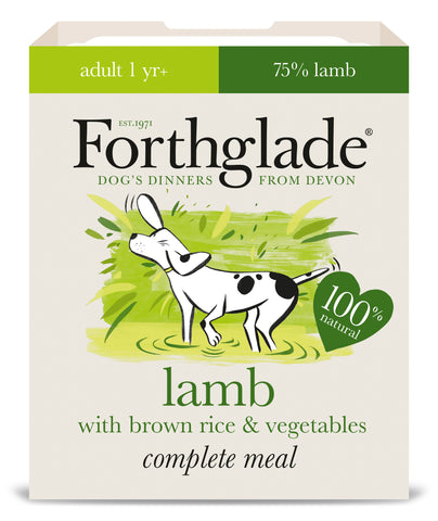 Forthglade Complete Meal Lamb with Brown Rice & Vegetables