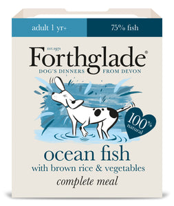 Forthglade Complete Meal Ocean Fish with Brown Rice & Vegetables