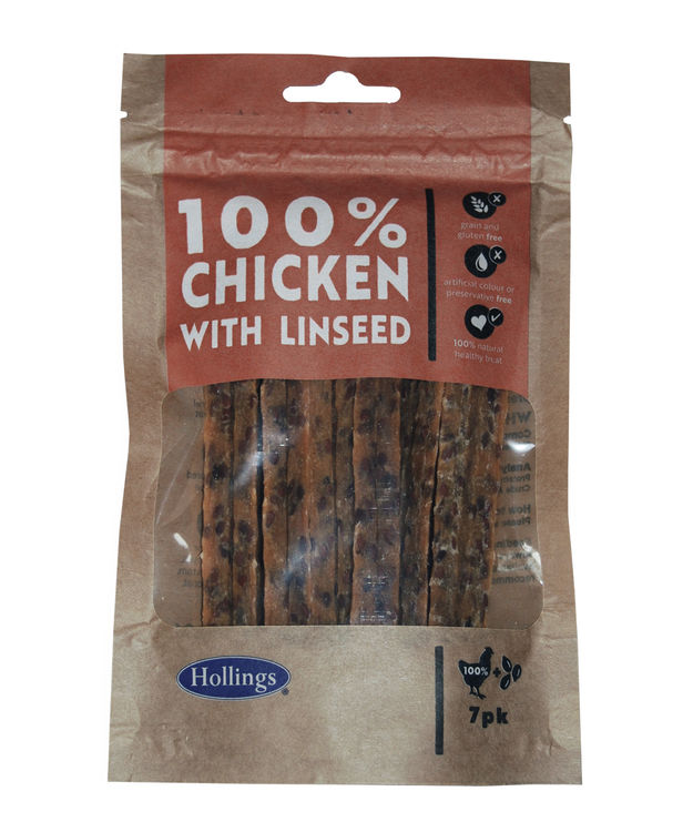 Hollings Chicken with Linseed Bar