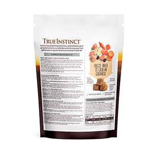 True Instinct Freeze-Dried Turkey with Salmon Dinner Complete Dog Food 120g