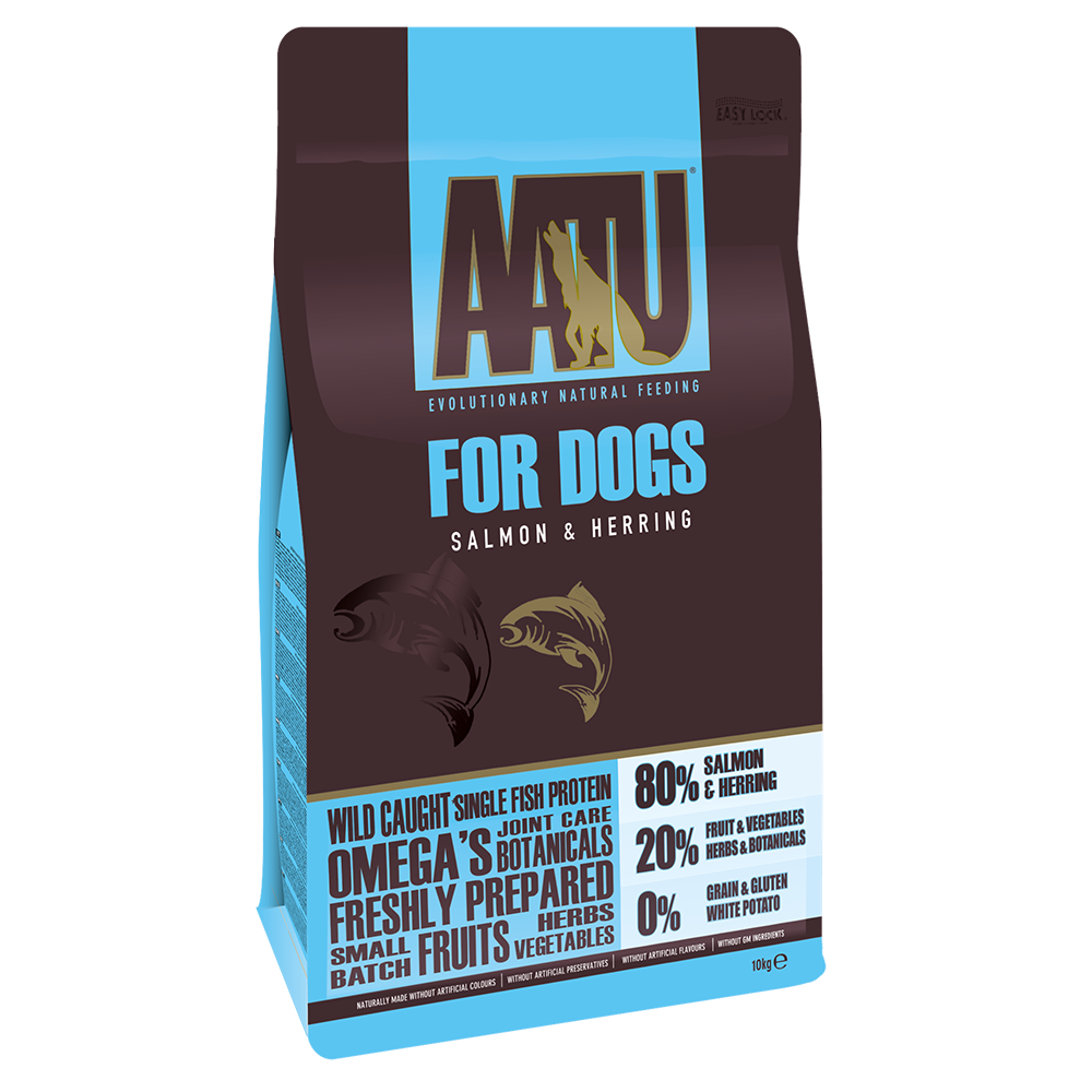 AATU 80/20 Salmon & Herring Adult Dry Dog Food