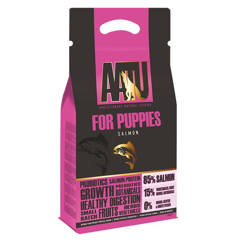 AATU 85/15 Salmon Puppy Dry Dog Food