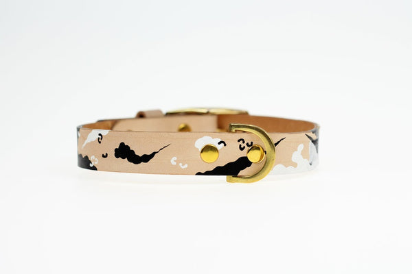 Inugami Zebra Camo Collar (20mm)