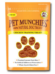 Pet Munchies Chicken Training Treats 150g