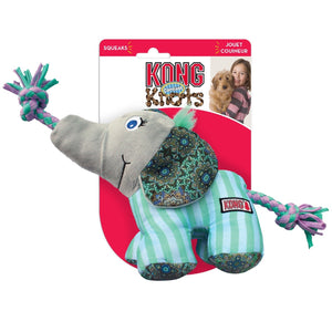 KONG Knots Carnival Elephant Dog Toy