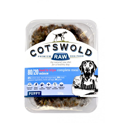 Cotswold Raw Mince Puppy - Beef & Tripe