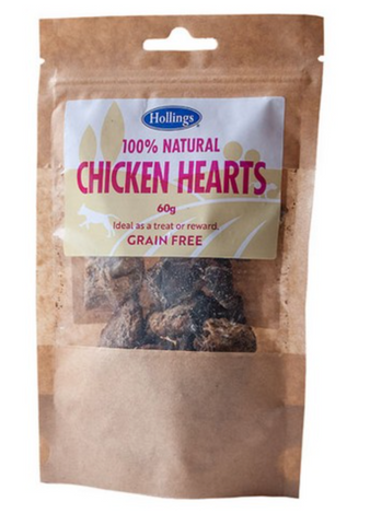 Hollings 100% Natural Chicken Hearts