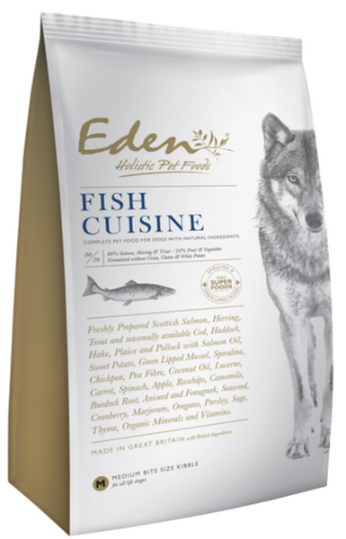 EDEN 80/20 FISH CUISINE DOG FOOD