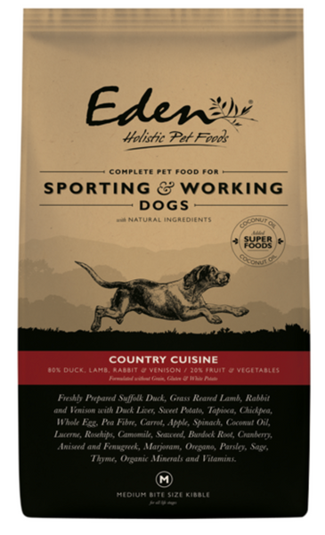 EDEN 80/20 COUNTRY CUISINE GAME WITH LAMB WORKING AND SPORTING DOG