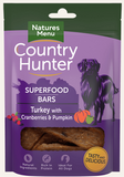 Natures Menu Country Hunter Superfood Bars Turkey with Cranberries & Pumpkin