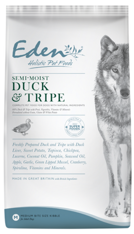Eden Semi-Moist Duck and Tripe Dog Food