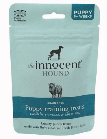 The Innocent Hound PUPPY TRAINING TREATS - LAMB WITH YELLOW SPLIT PEA