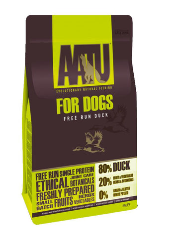 AATU 80/20 Free Run Duck Adult Dry Dog Food