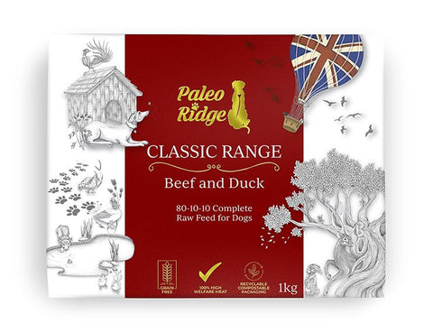 Paleo Ridge Classic Beef and Duck (1kg)