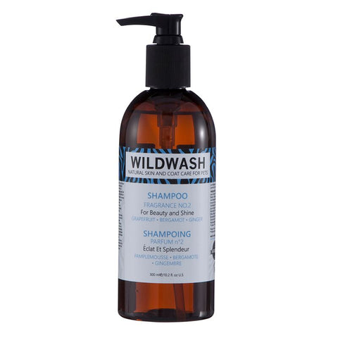 WildWash PRO Fragrance No.2 Shampoo 300ml - Grapefruit, Bergamot and Ginger
