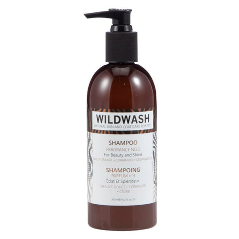 WildWash PRO Fragrance No.3 Shampoo - Sweet Orange, Coriander and Cedarwood