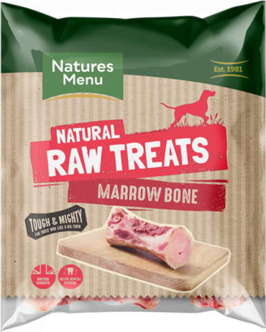 Natures Menu Raw Chews Marrow Bone for Adult Dogs