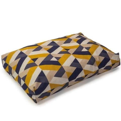 Danish Design Retreat Eco-Wellness Geo Tile Luxury Dog Duvet