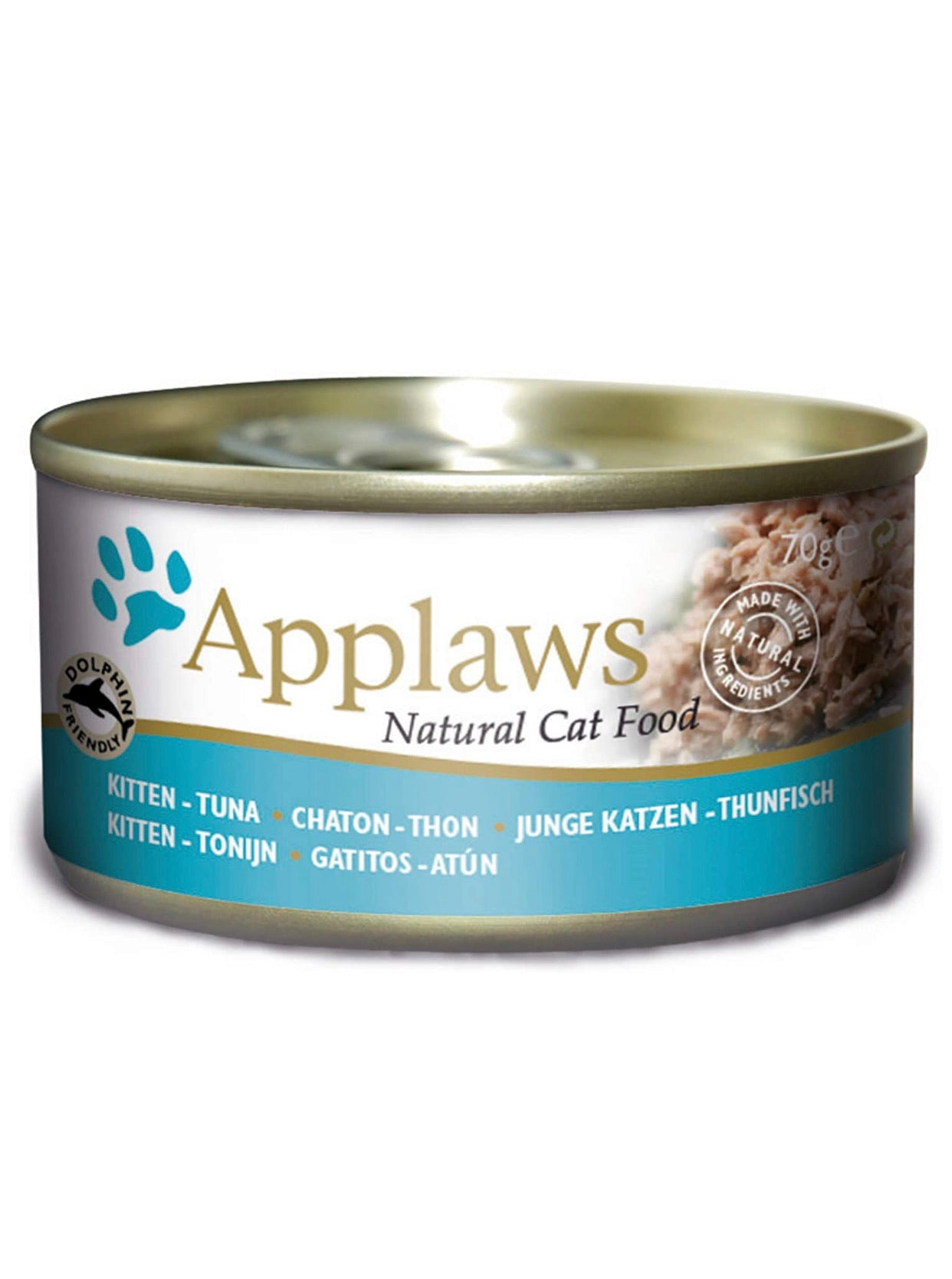 Applaws Natural Kitten Tins Tuna