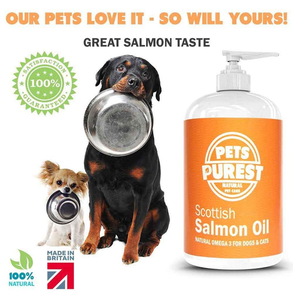 100% NATURAL PURE SCOTTISH SALMON OIL